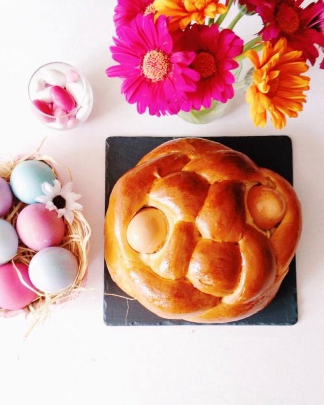 Folar da Pascoa, brioche Pascale portugaise
