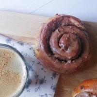 Éscargots à la pâte à tartiner glaçage au café