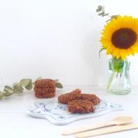 Cookies crus au beurre d'amande et chocolat