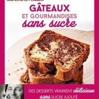 Gâteau Marbré au chocolat et à l'amande (sans sucre) de Philippe Conticini