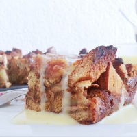 Pudding au pain (ou à la brioche)