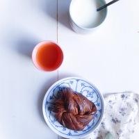 Brioches feuilletées au cacao