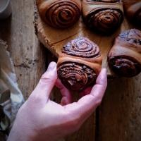 Korvapuusti au praliné et chocolat