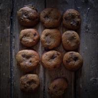 Cookies à l'huile d'olive et pépites de chocolat