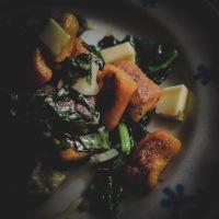 Gnocchis de patate douce et épinards frais