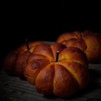 Petits pains citrouilles