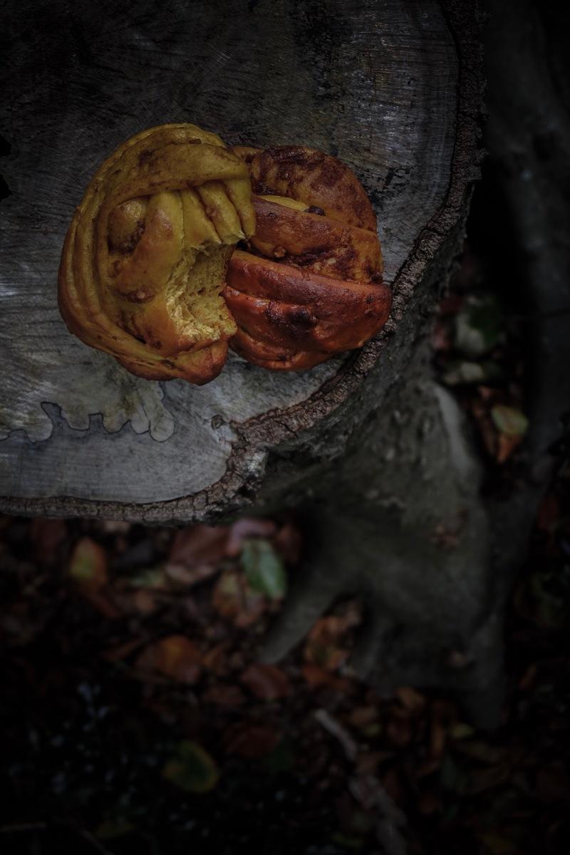 Brioches au potimarron et beurre de pomme