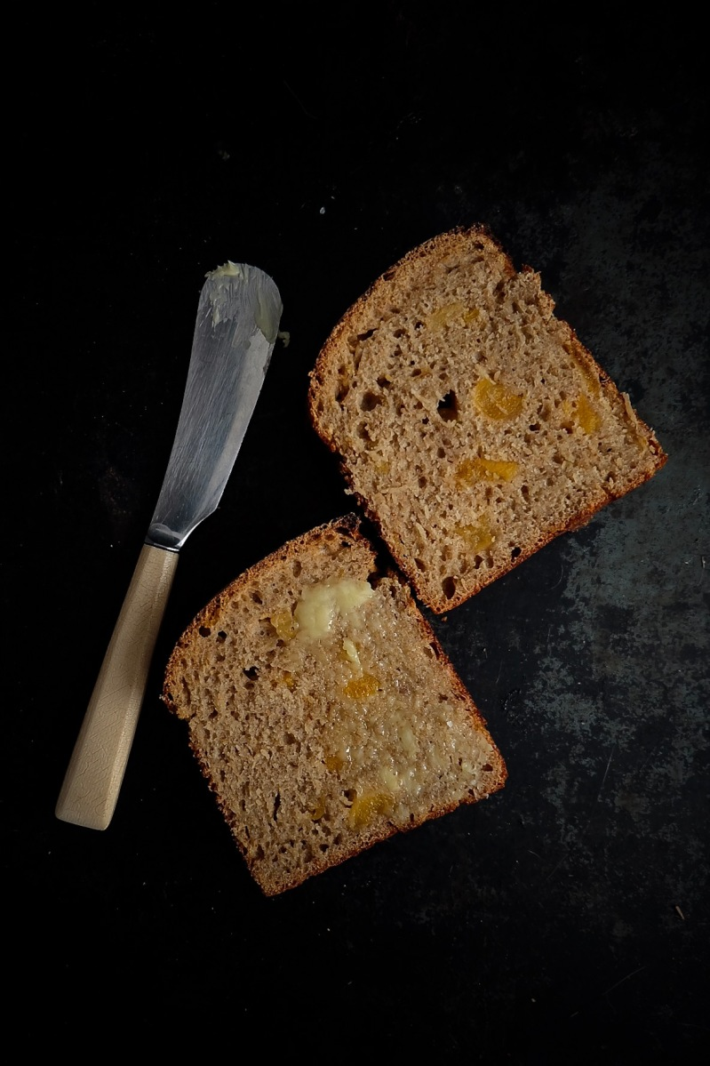 Rugbrød aux abricots